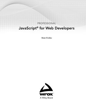 Professional JavaScript for Web Developers (2020)
