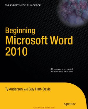 Beginning Microsoft Word 2010, Pdf Free Download