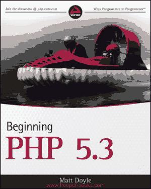 Beginning PHP 5.3, Pdf Free Download