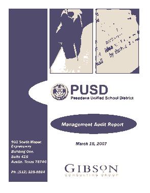 Free Download PDF Books, School District Final Management Audit Report Template