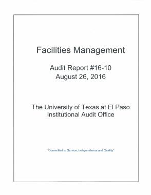 Free Download PDF Books, School Facilities Management Audit Report Template