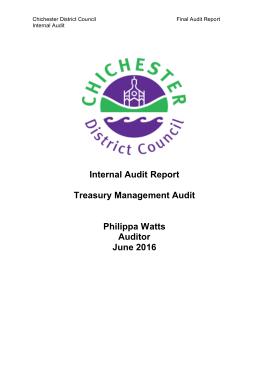 Free Download PDF Books, Treasury Management Audit Report Sample Template