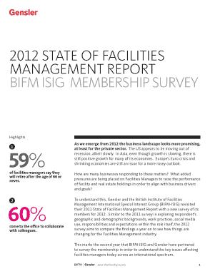 Free Download PDF Books, BIFM Formal Facilities Management Report Sample Template