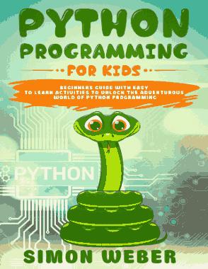 Free Download PDF Books, Python Programming for Kids (2020)