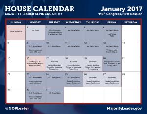 Printable House Monthly Calendar Template