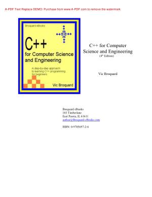 A Tour of C+ - Bjarne Stroustrup