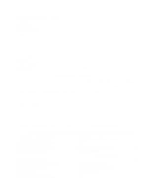 SWORN Financial Statement Sample Template