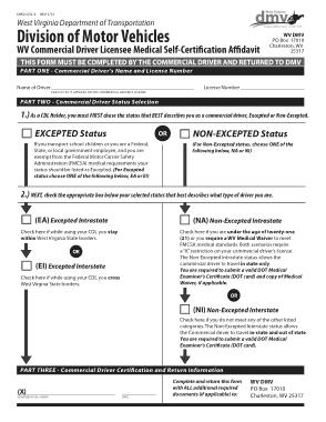 Free Download PDF Books, CDL Medical Affidavit Form Template