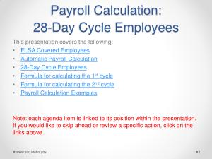 Employee Payroll Timesheet Calculator Template