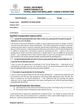 Free Download PDF Books, Payroll Deduction Enrolment Change Waiver Form Template