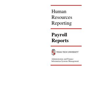 Free Download PDF Books, HR Payroll Register Template