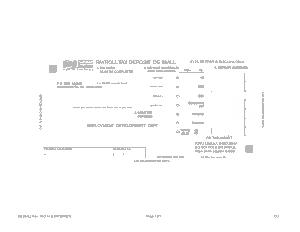 Free Download PDF Books, Blank Payroll Tax Deposit Form Template