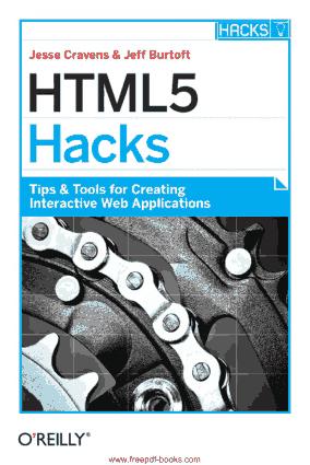 HTML5 Hacks, HTML5 Tutorial Book
