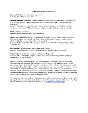 Free Download PDF Books, Sample Executive Summary Proposal Template