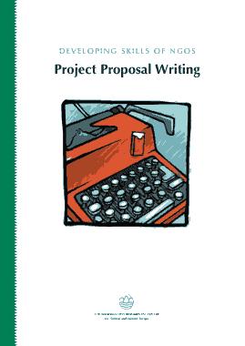 Free Download PDF Books, Development Skills Project Proposal Letter Template