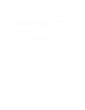 Intelligence Strategy Project Proposal Template