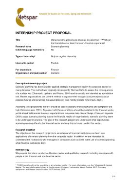 Free Download PDF Books, Internship Project Proposal Template