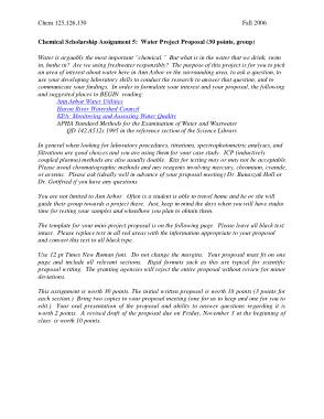 Free Download PDF Books, Mini Project Proposal Sample Template