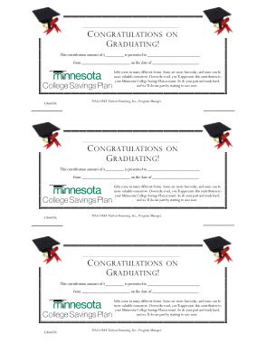 Free Download PDF Books, Congratution Certificate on Graduate Template