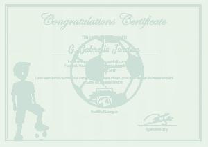 Sports Award Winning Congratulations Certificate Template