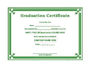Free Download PDF Books, Free Graduate Certificate Template