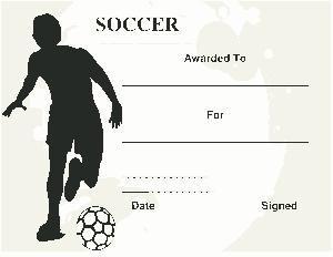 Free Download PDF Books, Football Fan Certificate Sample Template