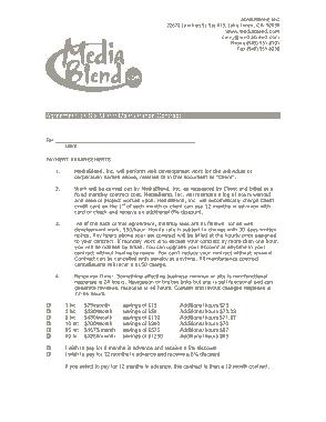 Free Download PDF Books, MB Maintenance Agreement Template