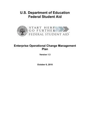 Free Download PDF Books, Enterprise Operational Change Management Plan Template