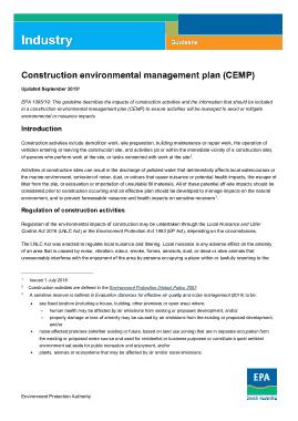 Free Download PDF Books, Construction Environmental Management Plan Template