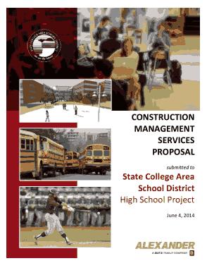 Free Download PDF Books, Construction Management Services Proposal Template