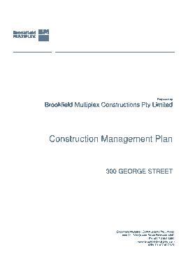 Free Download PDF Books, Multiplex Construction Management Plan Template