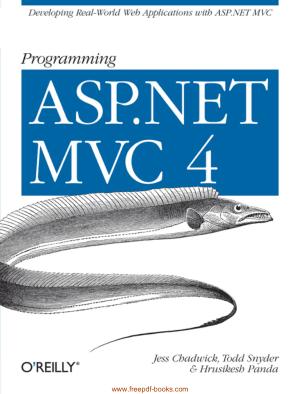 Programming ASP.Net Mvc 4