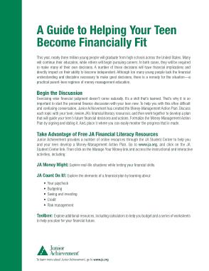 Free Download PDF Books, Money Management Action Plan Template