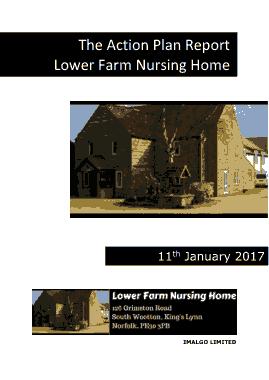 Free Download PDF Books, Nursing Home Action Plan Template