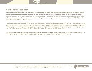 Team Action Plan Sample Template