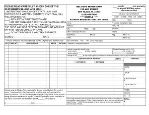 Free Download PDF Books, Auto Repair Invoice Form Template