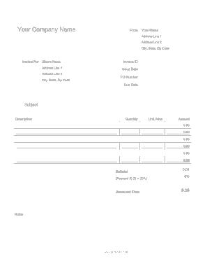 Free Download PDF Books, Auto Repair Invoice Free Template