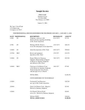 Free Download PDF Books, Billing Invoice Free Sample Template