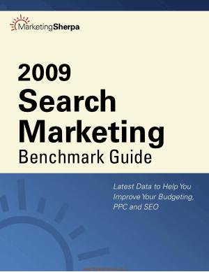 Free Download PDF Books, Search Marketing Benchmark Guide