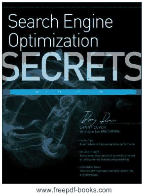Free Download PDF Books, SEO Search Engine Optimization Secrets