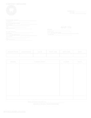 Free Download PDF Books, Dental Invoice Sample Template