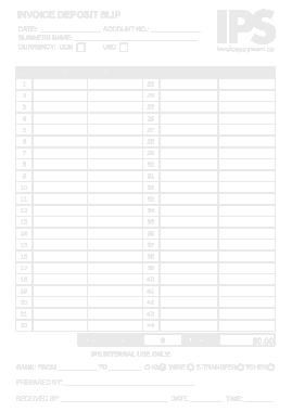 Free Download PDF Books, Deposit Invoice Sample Template