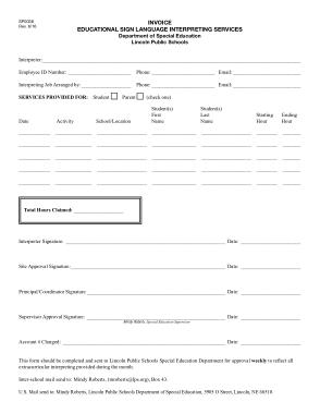 Free Download PDF Books, Educational Estimate Invoice Free Template
