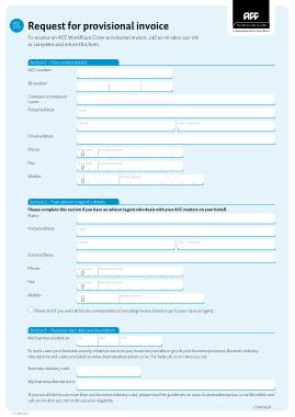 Free Download PDF Books, Provisional Estimate Invoice Template