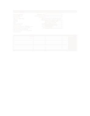 Medical BPA Invoice Template