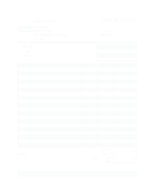Free Download PDF Books, Sample Restaurant Invoice Template