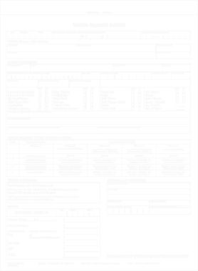 Vehicle Storage Invoice Template