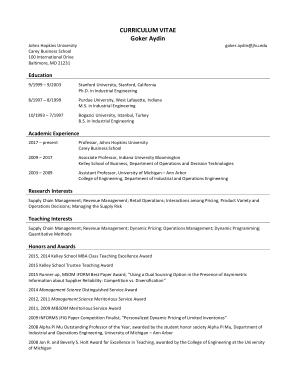 Free Download PDF Books, Printable Retail CV Template