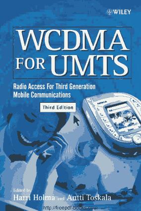 WCDMA For UMTS 3rd Edition Book