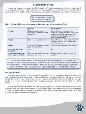 Free Download PDF Books, Student Curriculum Vitae Template